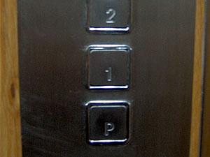 Bot�n de piso principal (P) sin entresuelo ni planta baja