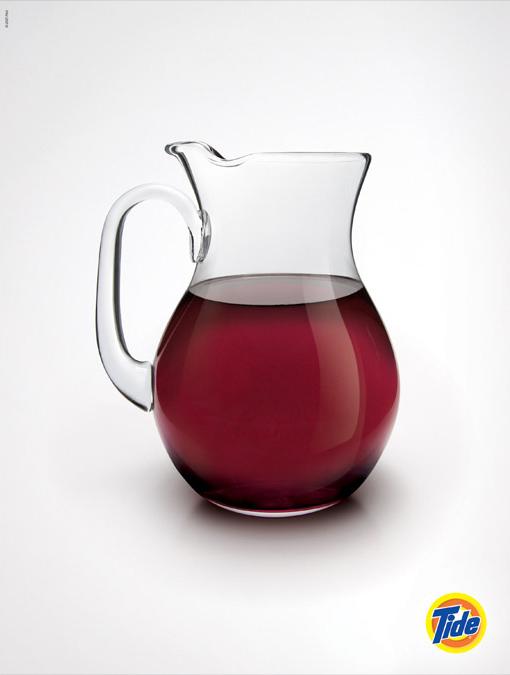 Jarra de vino imposible - Detergente Tide