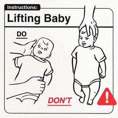 """Instrucciones: """"Lifting Baby"""""""