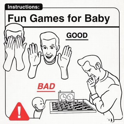 Instrucciones: �Fun Games For Baby�