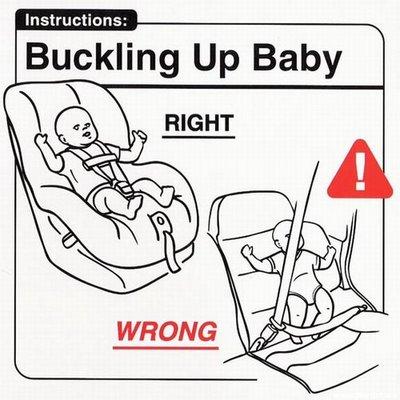 """Instrucciones: """"Bukling Up Baby"""""""