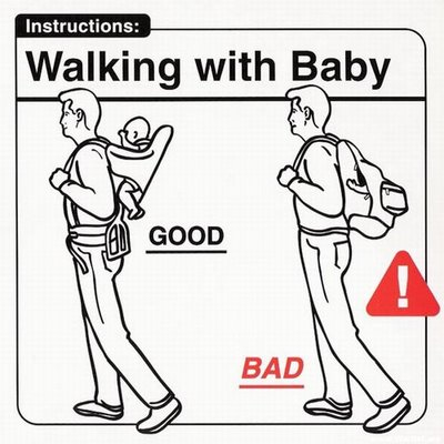 Instrucciones: �Walking with Baby�