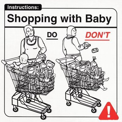 Instrucciones: �Shopping with Baby�