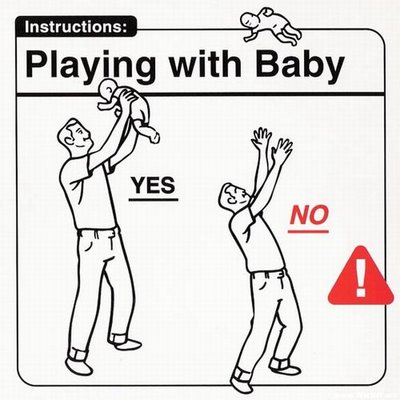 Instrucciones: �Playing with Baby�