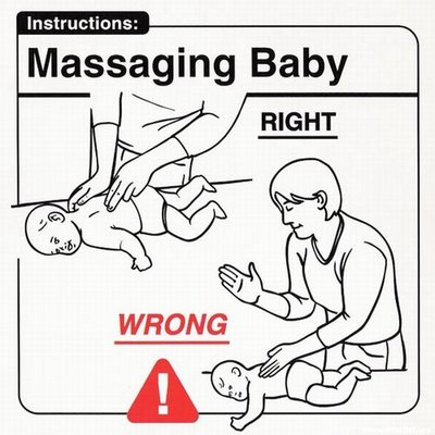 Instrucciones: �Massaging Baby�