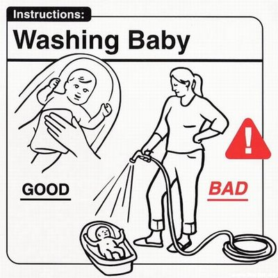 Instrucciones: �Washing Baby�