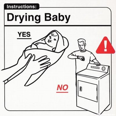 Instrucciones: �Drying Baby�