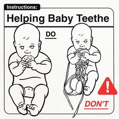 Instrucciones: �Helping Baby Teethe�