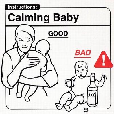 """Instrucciones: """"Calming Baby"""""""