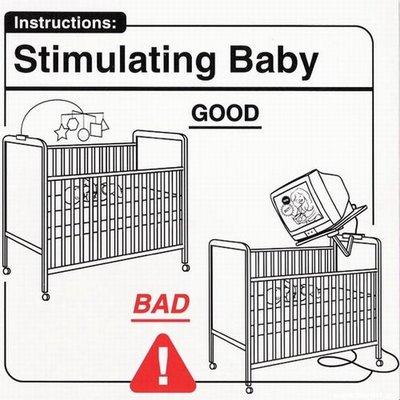 """Instrucciones: """"Stimulating Baby"""""""