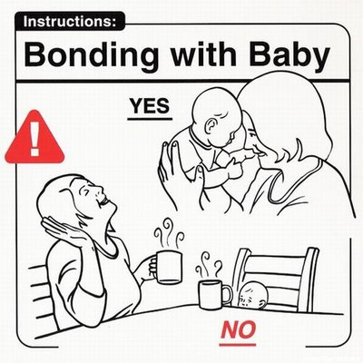 Instrucciones: �Bonding with Baby�