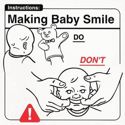 Instrucciones: �Making Baby Smile�