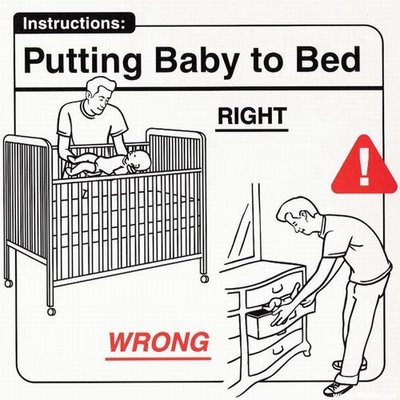 Instrucciones: �Putting Baby to Bed�