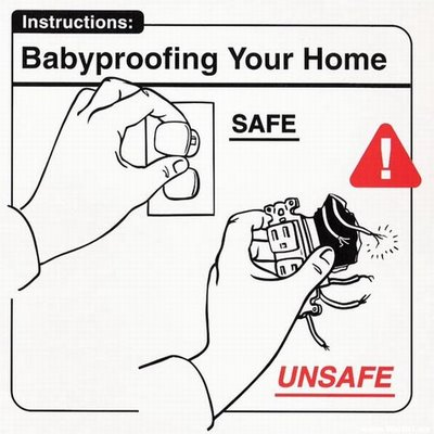 Instrucciones: �Baby Proofing your Home�