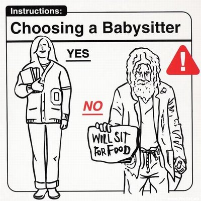 "Instrucciones: ""Choosing a Babysitter"""