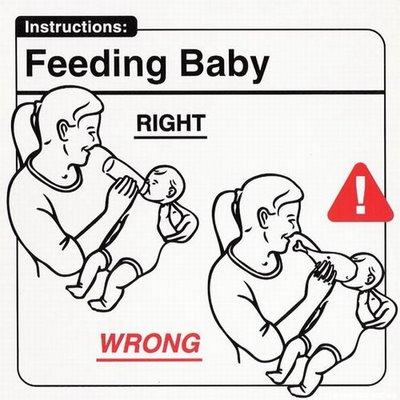 """Instrucciones: """"Feeding Baby"""""""