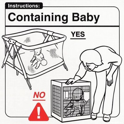Instrucciones: �Containing Baby�