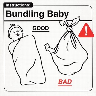 """Instrucciones: """"Bundling Baby"""""""