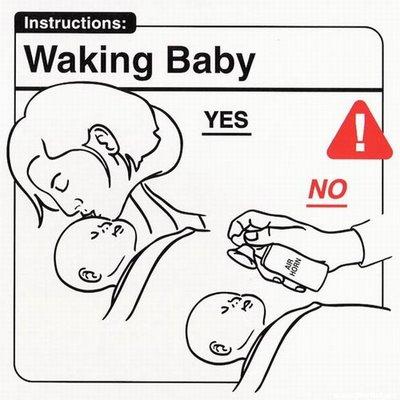 """Instrucciones: """"Waking Baby"""""""
