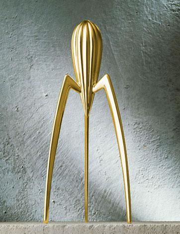 Exprimidor de limones de Philippe Starck - Edici�n limitada dorada de 2000
