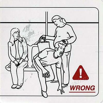 "Instrucciones: \""Riding Public Transit\"""