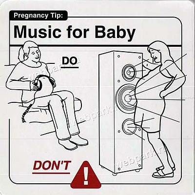 "Instrucciones: ""Music for Baby\"""