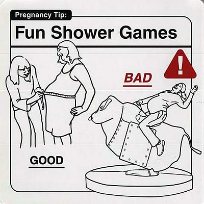 "Instrucciones: ""Fun Shower Games\"""