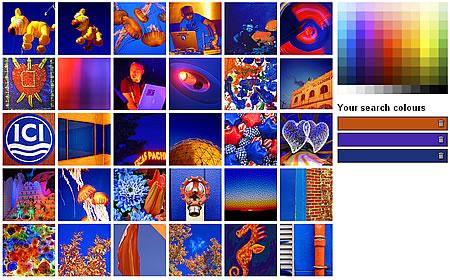 Im�genes ordenadas por color