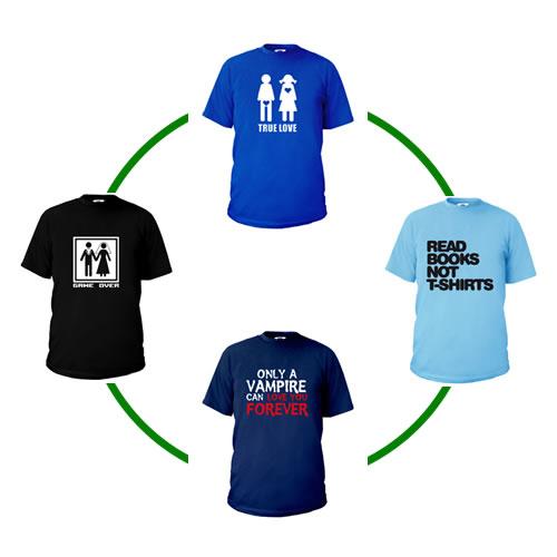 Ciclo de vida de las camisetas