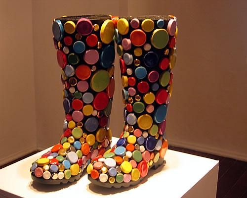Exposici�n de zapatos