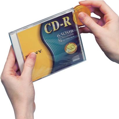Abridor de envoltorios de CD