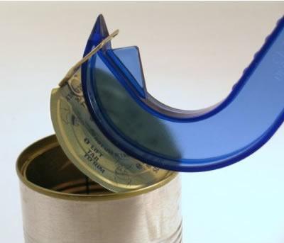 Abridor de latas con abrefácil