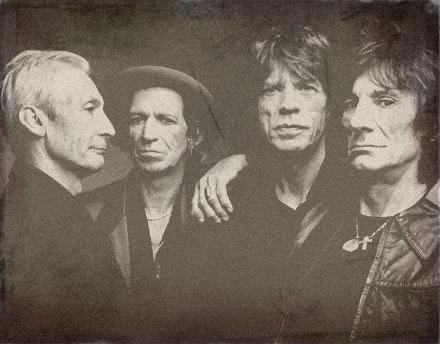 Los Rolling Stones hace un tiempo