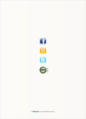 Publicidad Heinken - Social Networking Since 1873